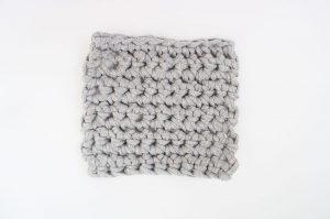 埼玉県所沢市のかぎ針編み教室pomponnerでのzpagettiレッスンの編み地12mm