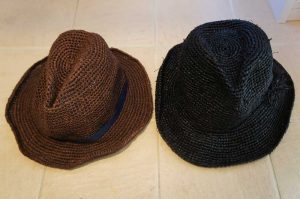 埼玉県所沢市のかぎ針編み教室pomponnerの麦わら帽子