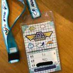 ANAジュニアパイロット専用のチケットホルダーの画像